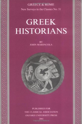 9780199225019: Greek Historians