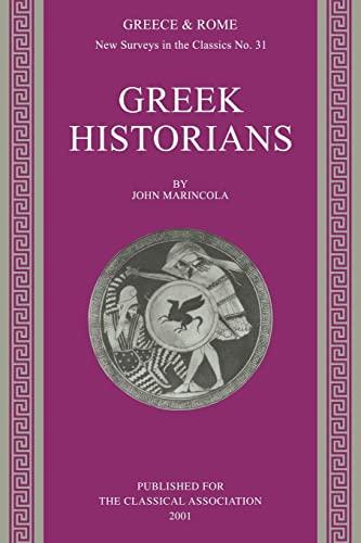 9780199225019: Greek Historians (New Surveys in the Classics)