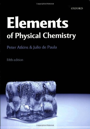9780199226726: Elements of Physical Chemistry
