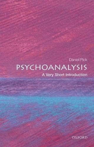 9780199226818: Psychoanalysis: A Very Short Introduction