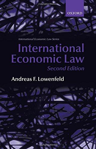 9780199226931: International Economic Law (International Economic Law Series)