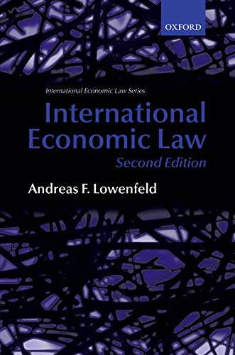 9780199226948: International Economic Law (International Economic Law Series)