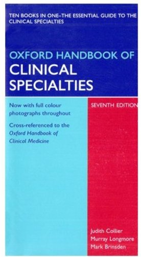 9780199227150: Oxford Handbook of Clinical Specialties: Book and PDA Pack (Oxford Handbooks Series)
