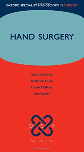 9780199227235: Hand Surgery (Oxford Specialist Handbooks in Surgery)