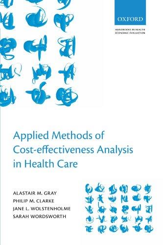9780199227280: Applied Methods of Cost-effectiveness Analysis in Healthcare (Handbooks in Health Economic Evaluation)