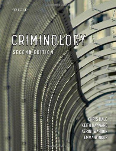 9780199227297: Criminology