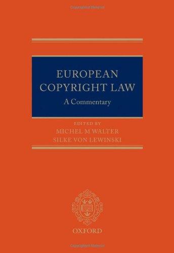 European Copyright Law: Michel M. Walter