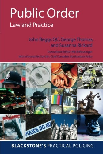 9780199227976: Public Order: Law and Practice
