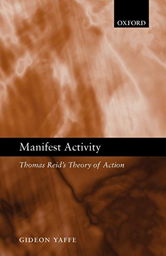 9780199228034: Manifest Activity: Thomas Reid's Theory of Action