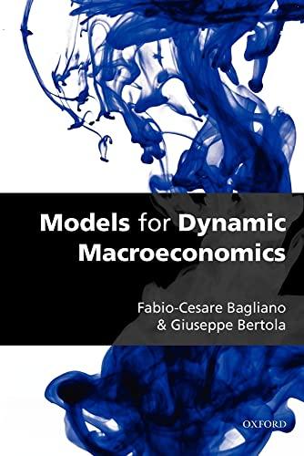 9780199228324: Models for Dynamic Macroeconomics