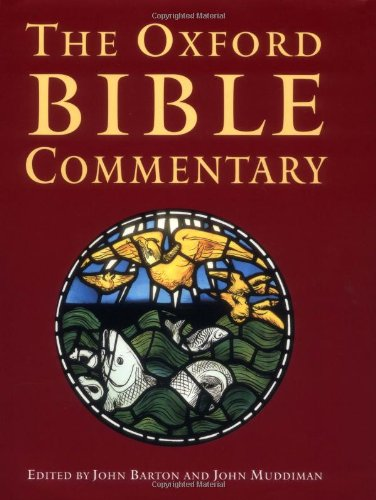 9780199228850: The Oxford Bible Commentary