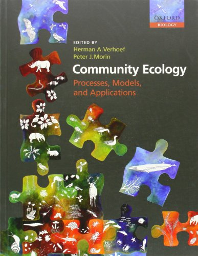 9780199228980: Community Ecology: Processes, Models, and Applications