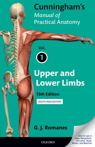 9780199229093: Cunningham's Manual of Practical Anatomy: Volume I: Upper and Lower Limbs