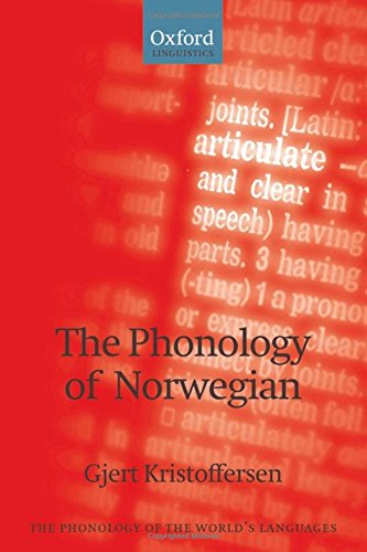 9780199229321: The Phonology of Norwegian (The Phonology of the World's Languages)