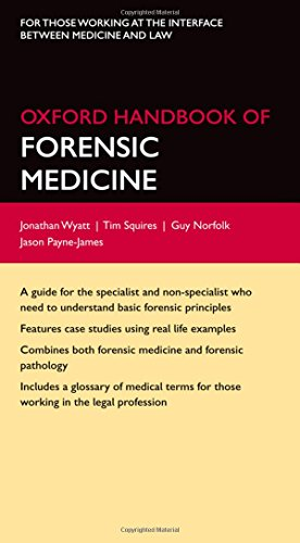 9780199229949: Oxford Handbook of Forensic Medicine