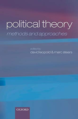 9780199230082: Political Theory: Methods and Approaches