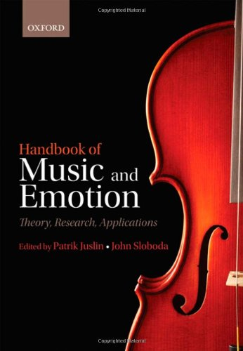 9780199230143: Handbook of Music and Emotion: Theory, Research, Applications (Series in Affective Science)