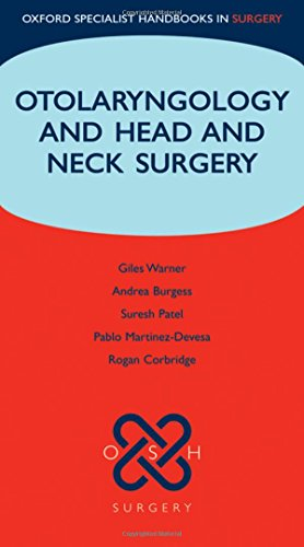 9780199230228: Otolaryngology and Head and Neck Surgery (Oxford Specialist Handbooks in Surgery)