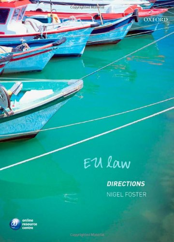 9780199230358: EU Law Directions (Directions Series)