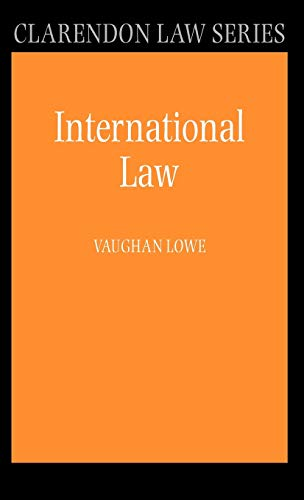 9780199230839: International Law (Clarendon Law Series)