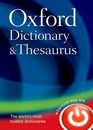 9780199230884: Oxford Dictionary and Thesaurus
