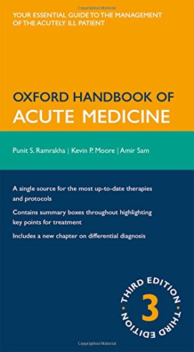 9780199230921: Oxford Handbook of Acute Medicine (Oxford Medical Handbooks)