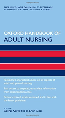 9780199231355: Oxford Handbook of Adult Nursing (Flexicover) (Oxford Handbooks in Nursing)