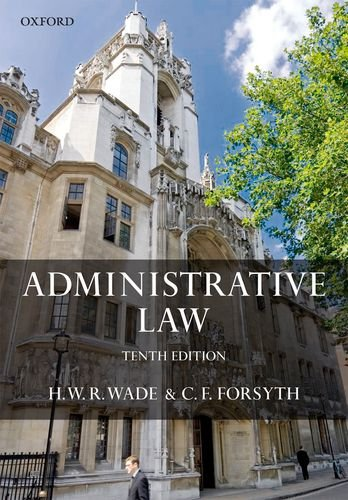 9780199231614: Administrative Law