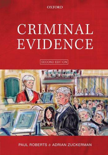 9780199231645: Criminal Evidence