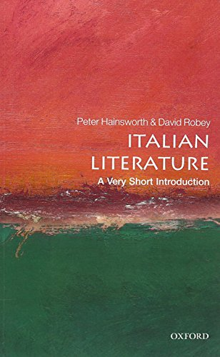 9780199231799: Italian Literature: A Very Short Introduction