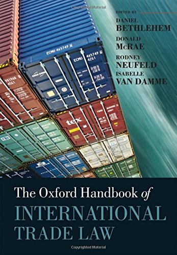 9780199231928: The Oxford Handbook of International Trade Law (Oxford Handbooks)
