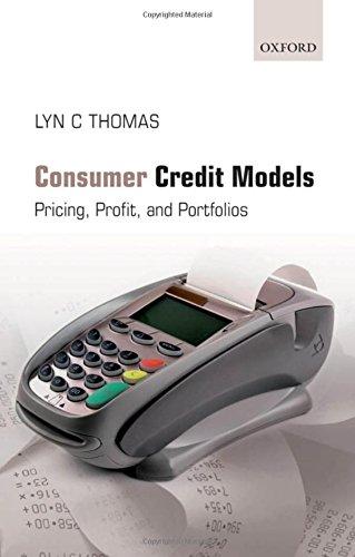 9780199232130: Consumer Credit Models: Pricing, Profit and Portfolios