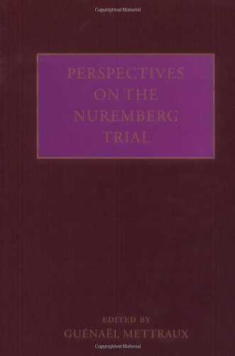 9780199232345: Perspectives on the Nuremberg Trial