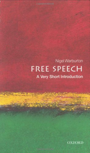 Free speech. a very short introduction