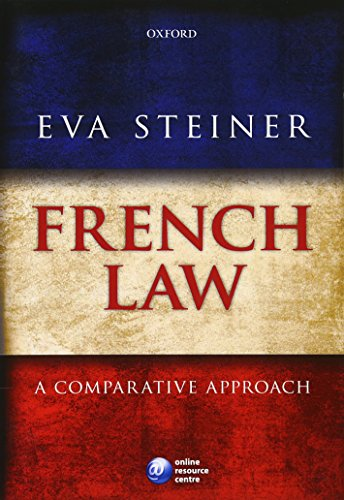9780199232376: French Law: A Comparative Approach
