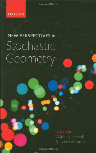 9780199232574: New Perspectives in Stochastic Geometry
