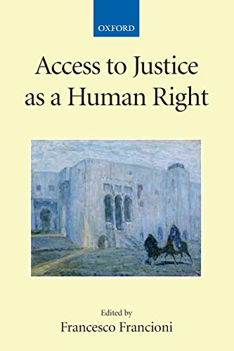 9780199233090: Access to Justice as a Human Right