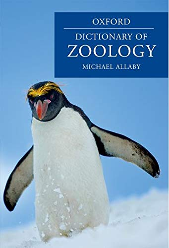 9780199233403: A Dictionary of Zoology (Oxford Dictionary of Zoology)