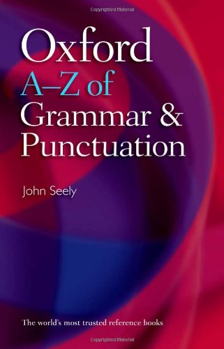 9780199233465: Oxford A-Z of Grammar and Punctuation