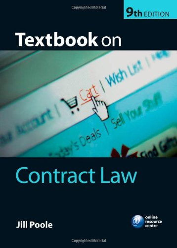 9780199233519: Textbook on Contract Law