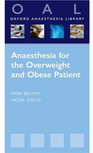 9780199233953: Anaesthesia for the Overweight and Obese Patient