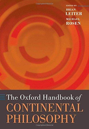 9780199234097: The Oxford Handbook of Continental Philosophy (Oxford Handbooks)