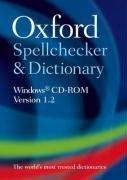 9780199234189: Oxford Spellchecker & Dictionary (Individual User Version 1.2): Windows® CD-ROM