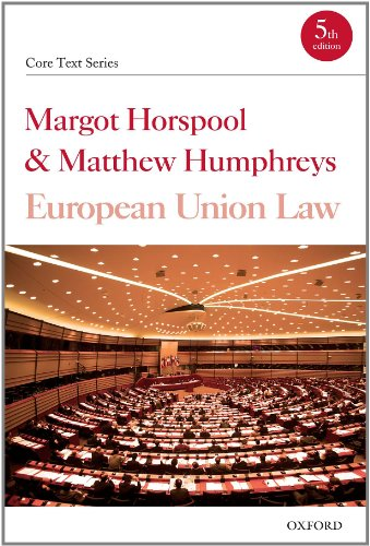 9780199234196: European Union Law (Core Texts Series)