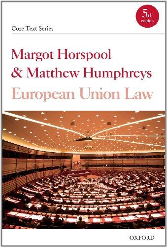 9780199234196: European Union Law (Core Texts Series)