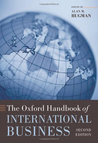 9780199234257: The Oxford Handbook of International Business (Oxford Handbooks)