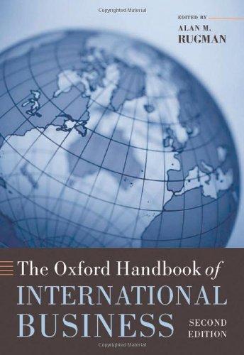 9780199234257: The Oxford Handbook of International Business (Oxford Handbooks in Business and Management C)