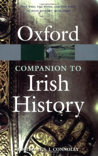 9780199234837: The Oxford Companion to Irish History