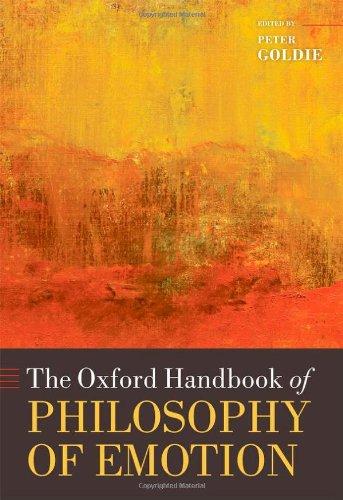 9780199235018: The Oxford Handbook of Philosophy of Emotion (Oxford Handbooks)