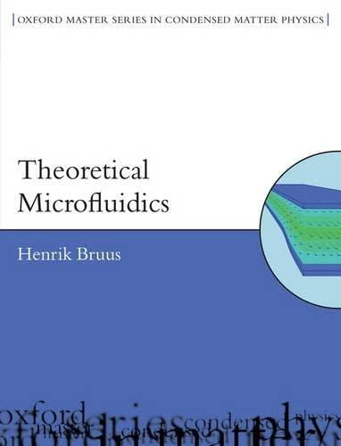 9780199235087: Theoretical Microfluidics